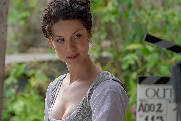 "Caitrona Balfe stars in ""Outlander"" on Starz."