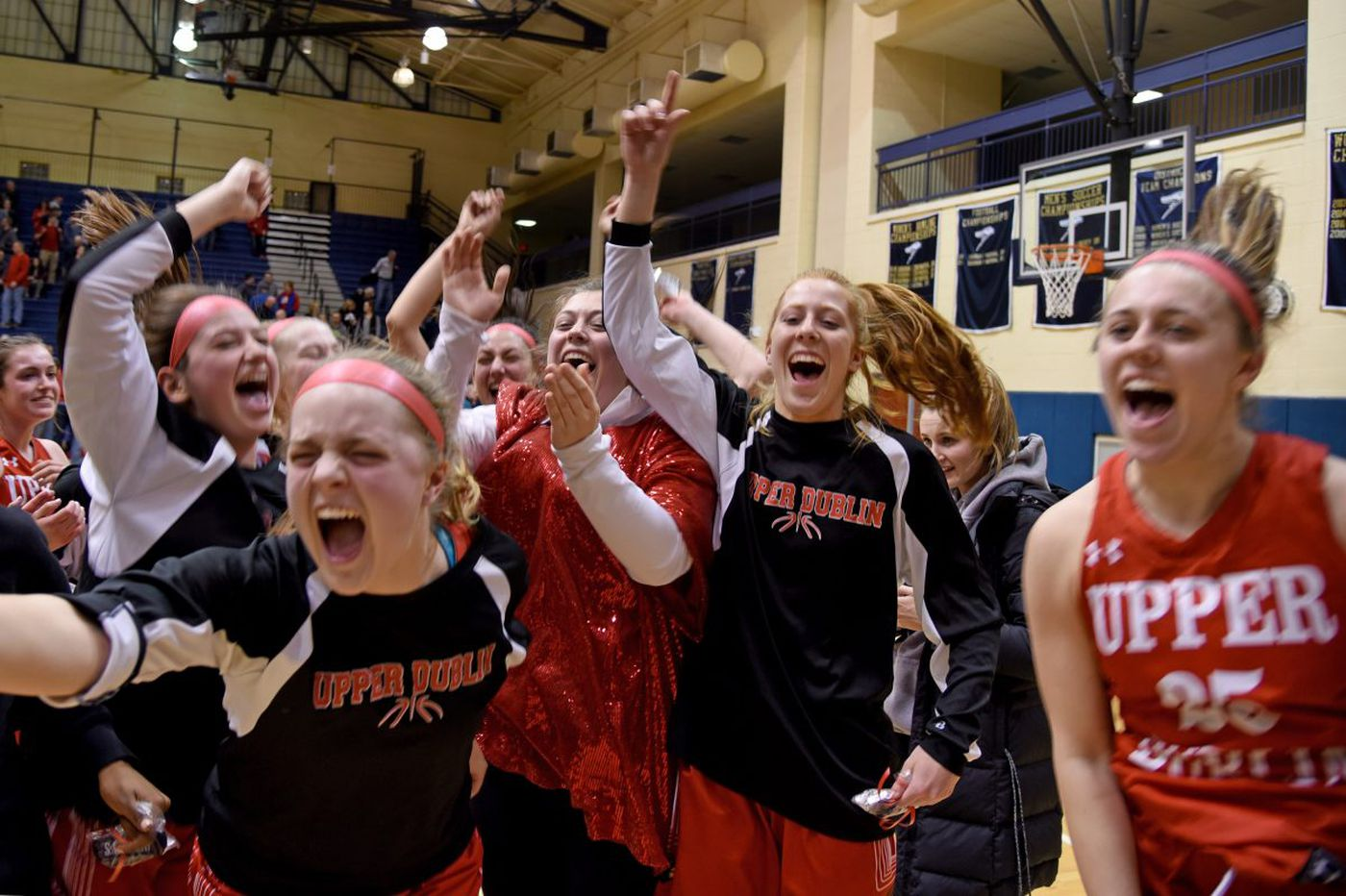 Jess Polin's free throw sends Upper Dublin girls to PIAA state title game