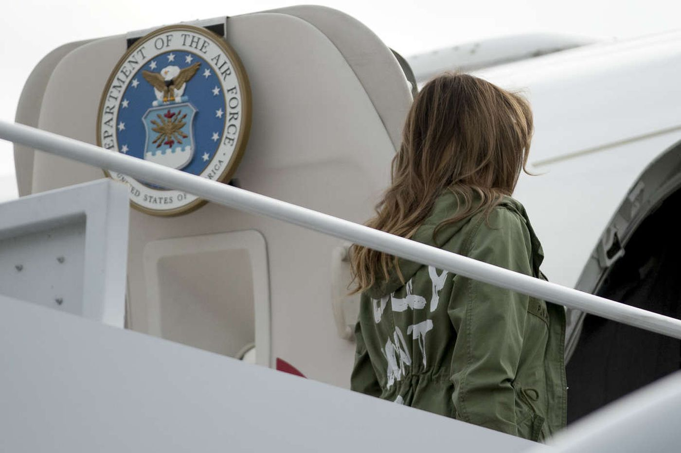 Don't be distracted from the immigration crisis by Melania Trump's fake fashion choice | Jenice Armstrong