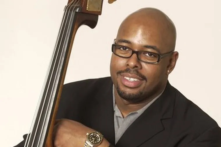 Christian McBride performs in Blue Bell Friday.