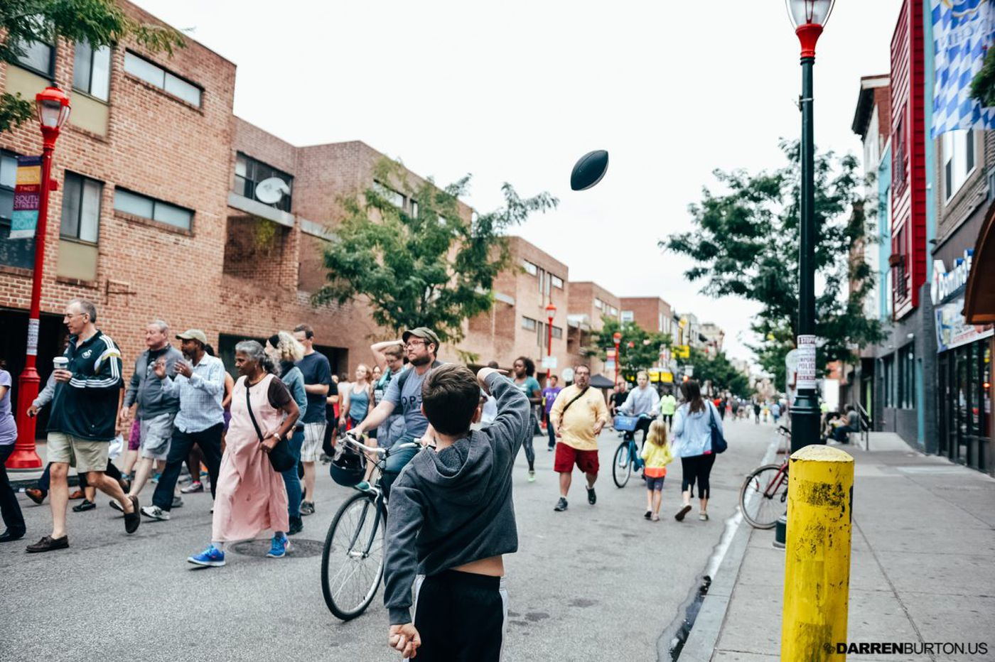 Pedestrians of Philly: Take to the streets!