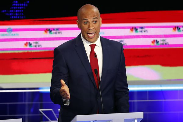 Democratic debate: Cory Booker gets most airtime, NBC hit with tech issues