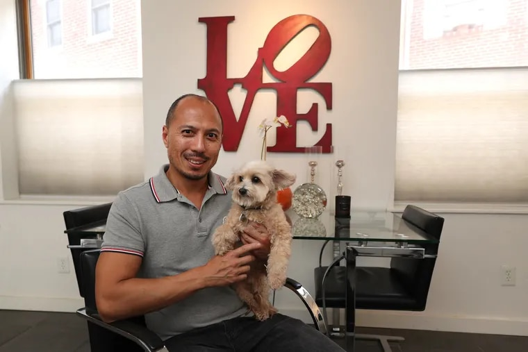 Ray Cancio lives in a compact house in Northern Liberties with his Maltipoo, Cooper. He previously lived in Bucks County and then in a loft near Philadelphia's Chinatown.