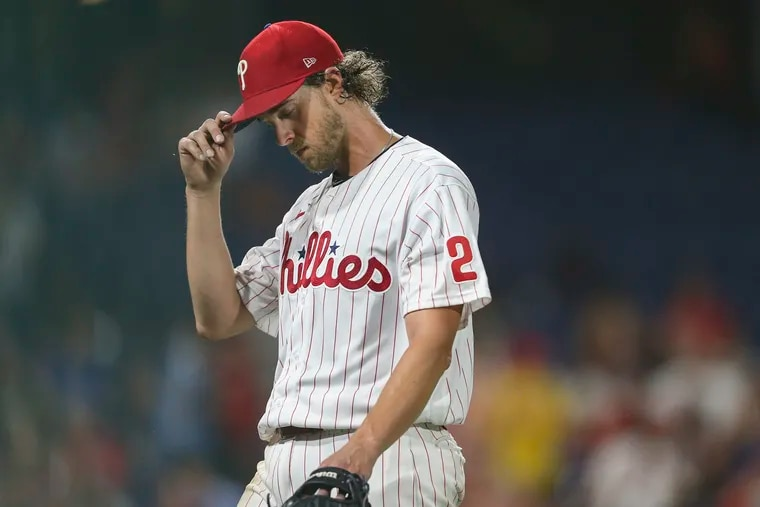 Inconsistent Phillies starter Aaron Nola might feel less pressure now that Kyle Gibson has arrived.