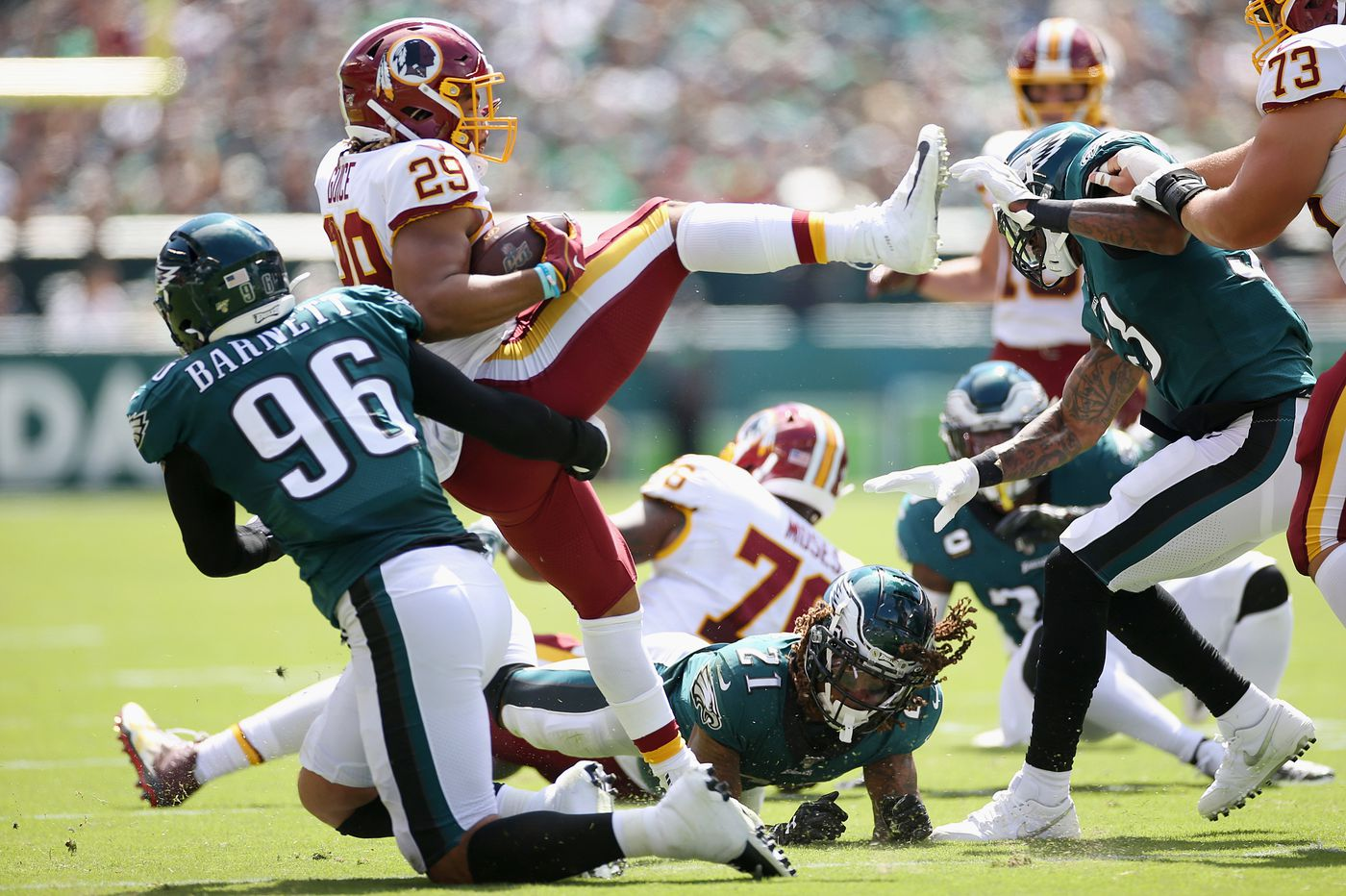 NFL betting: Last-minute Redskins TD vs. Eagles cost sports bettors 'seven figures'