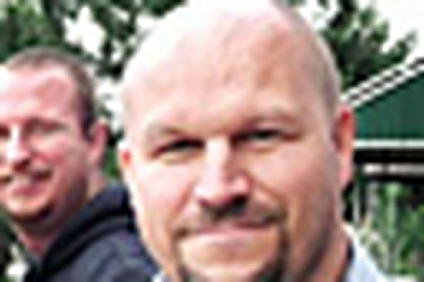CHILLIN' WIT: Mayfair Town Watch President Milt Martelack