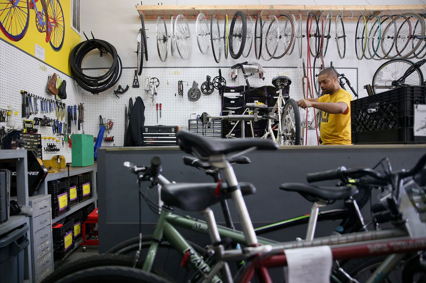 Neighborhood Bike Works launches program to get bikes to essential workers