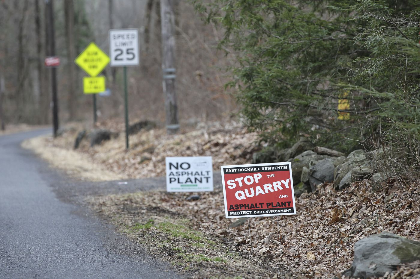 No mining, for now, at East Rockhill quarry where asbestos naturally occurs