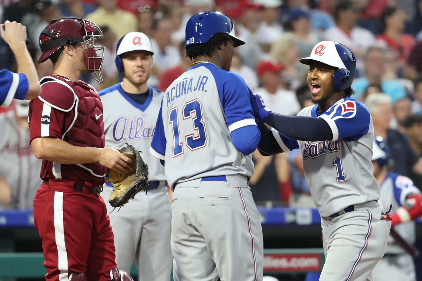 san francisco 31e57 236d2 Phillies fall to Braves for embarrassing, ugly loss in ...