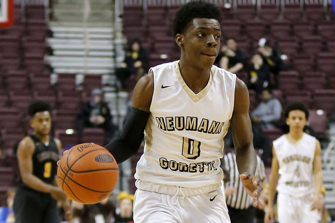 Chris Ings, Marcus Littles lead Neumann-Goretti past Roman
