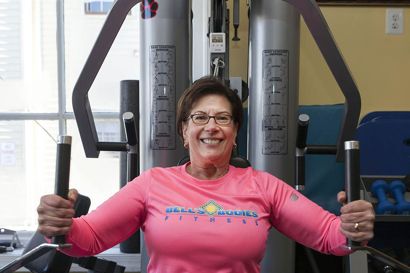 67-year-old 'Fit Nation' contestant shows you're never too old to exercise