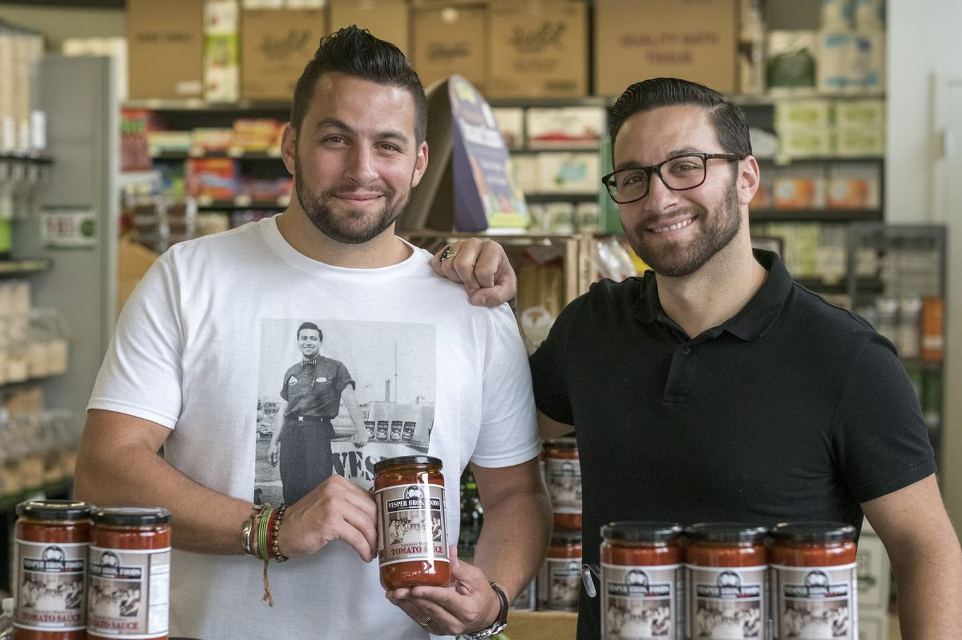These twins make a jarred red sauce even their Italian grandmother loves