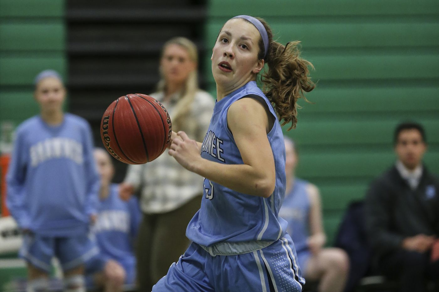 Sierra Sanson is hard-nosed leader for Shawnee girls basketball