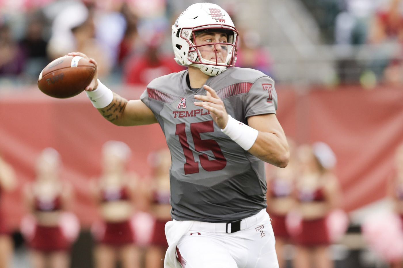 Temple quarterback Anthony Russo is embracing his role as a team leader