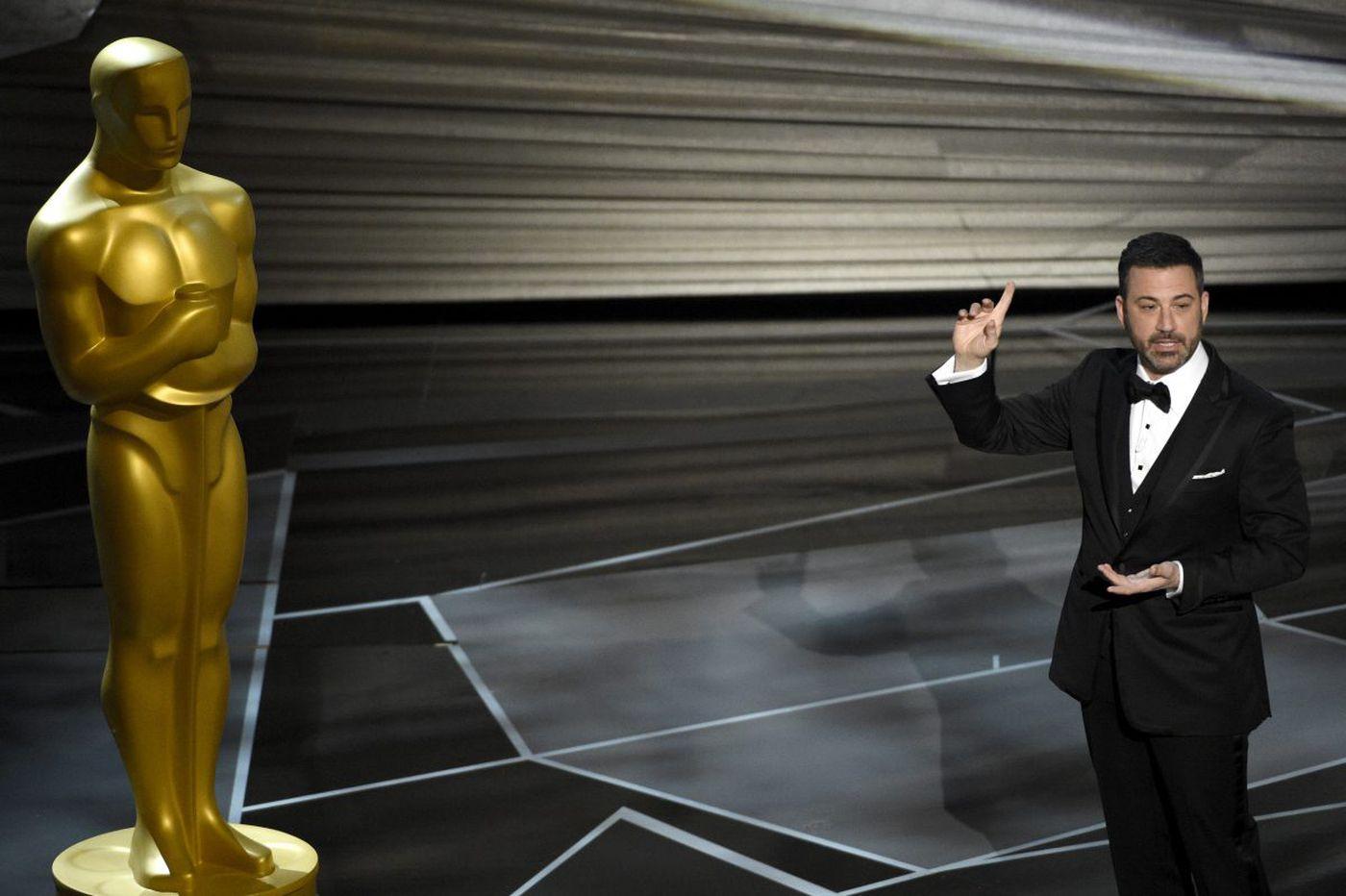 Oscars 2018: Jimmy Kimmel gets it done with jokes and a Jet Ski