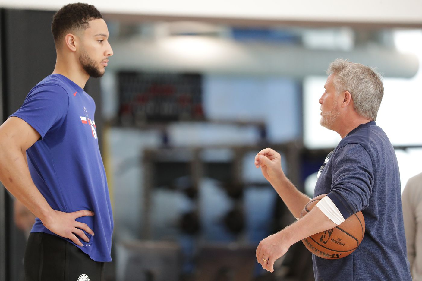 Brett Brown: 'Evidently I have failed' at getting Ben Simmons to shoot a three every game