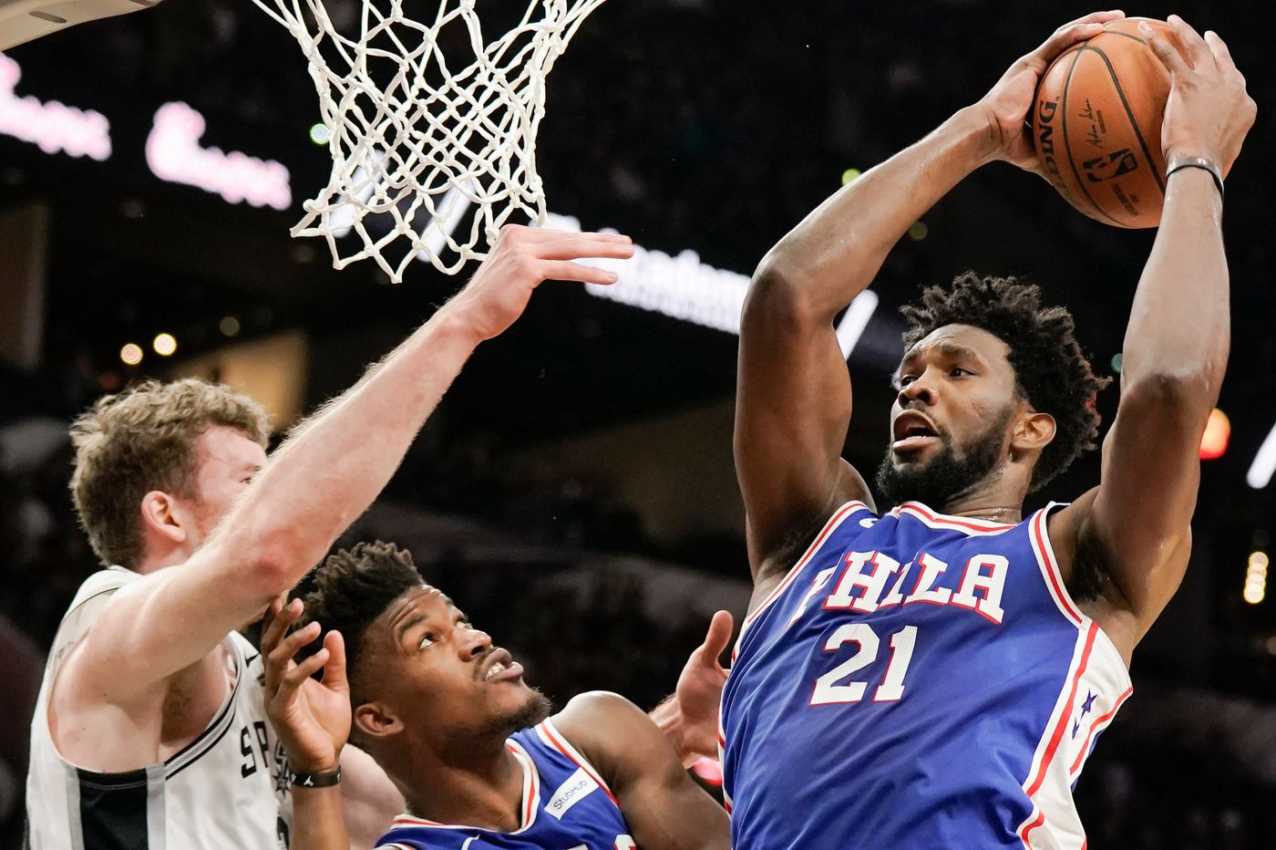 Jimmy Butler, Joel Embiid listed as questionable for Sixers' game against New York Knicks