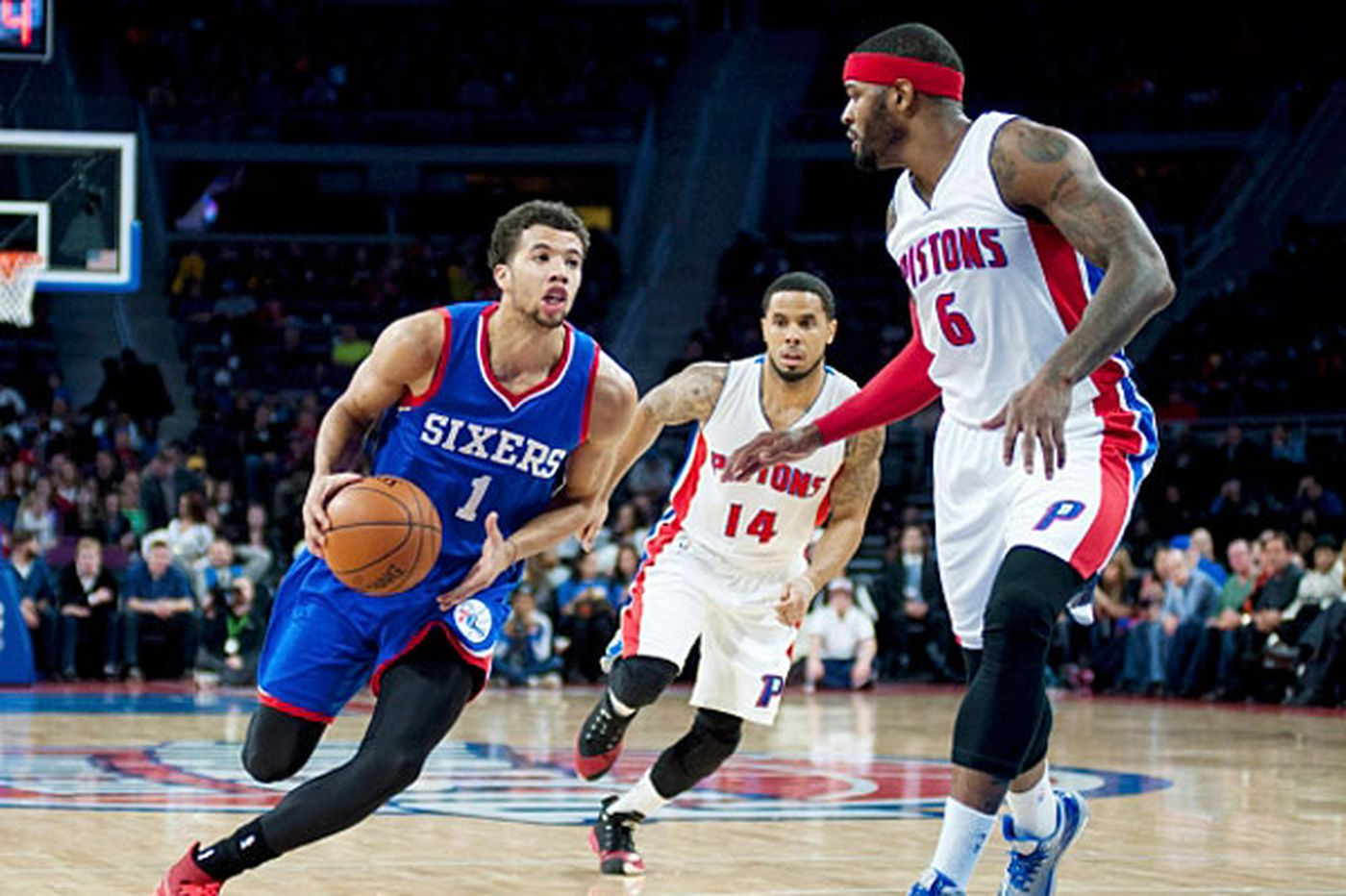 Sixers top Pistons in overtime for Win No. 2