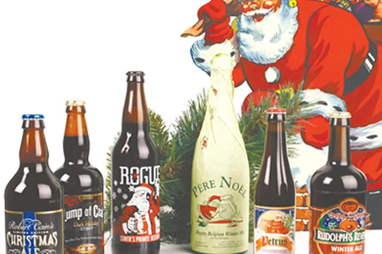 The fat, jolly Santa Claus we know has been used to sell beer since the 1860s. (Yong Kim / Staff photographer)