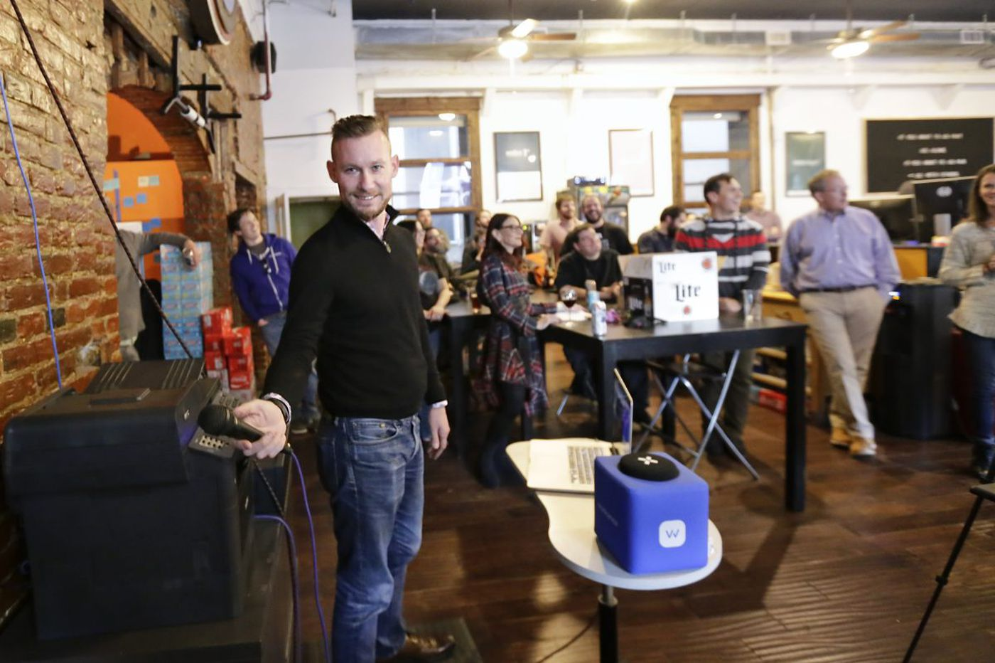 How a rowdy, beer-soaked Friday meeting above National Mechanics keeps this tech firm sharp