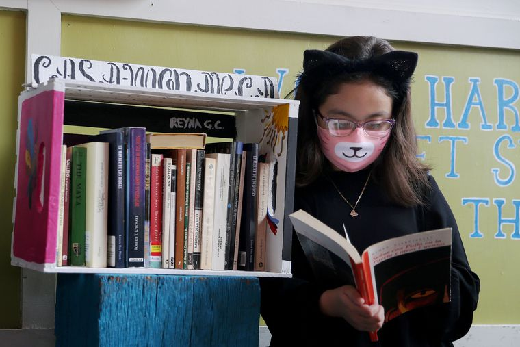 Spanish readers now have colorful community libraries in South Philly