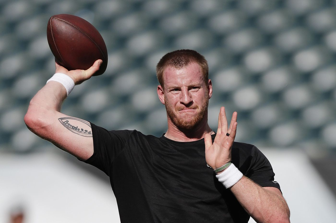 Eagles show Carson Wentz's long-term health is paramount by holding him off for season opener   Jeff McLane
