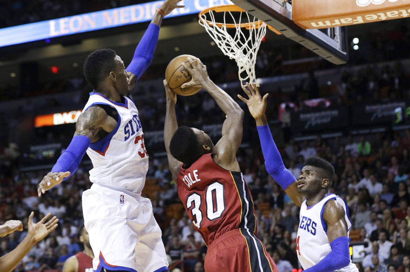 Brown pleased with Sixers' defensive numbers