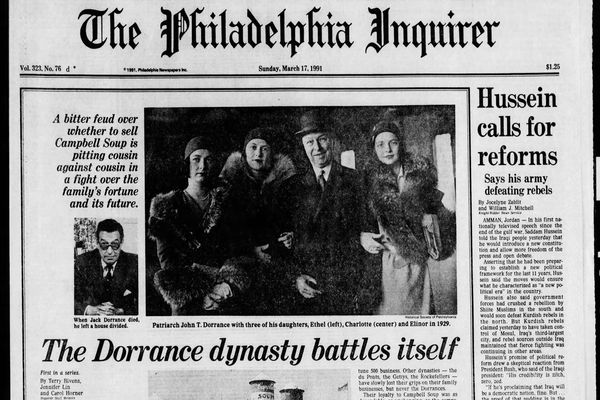 From the Archives: The Dorrance dynasty battles itself at Campbell's