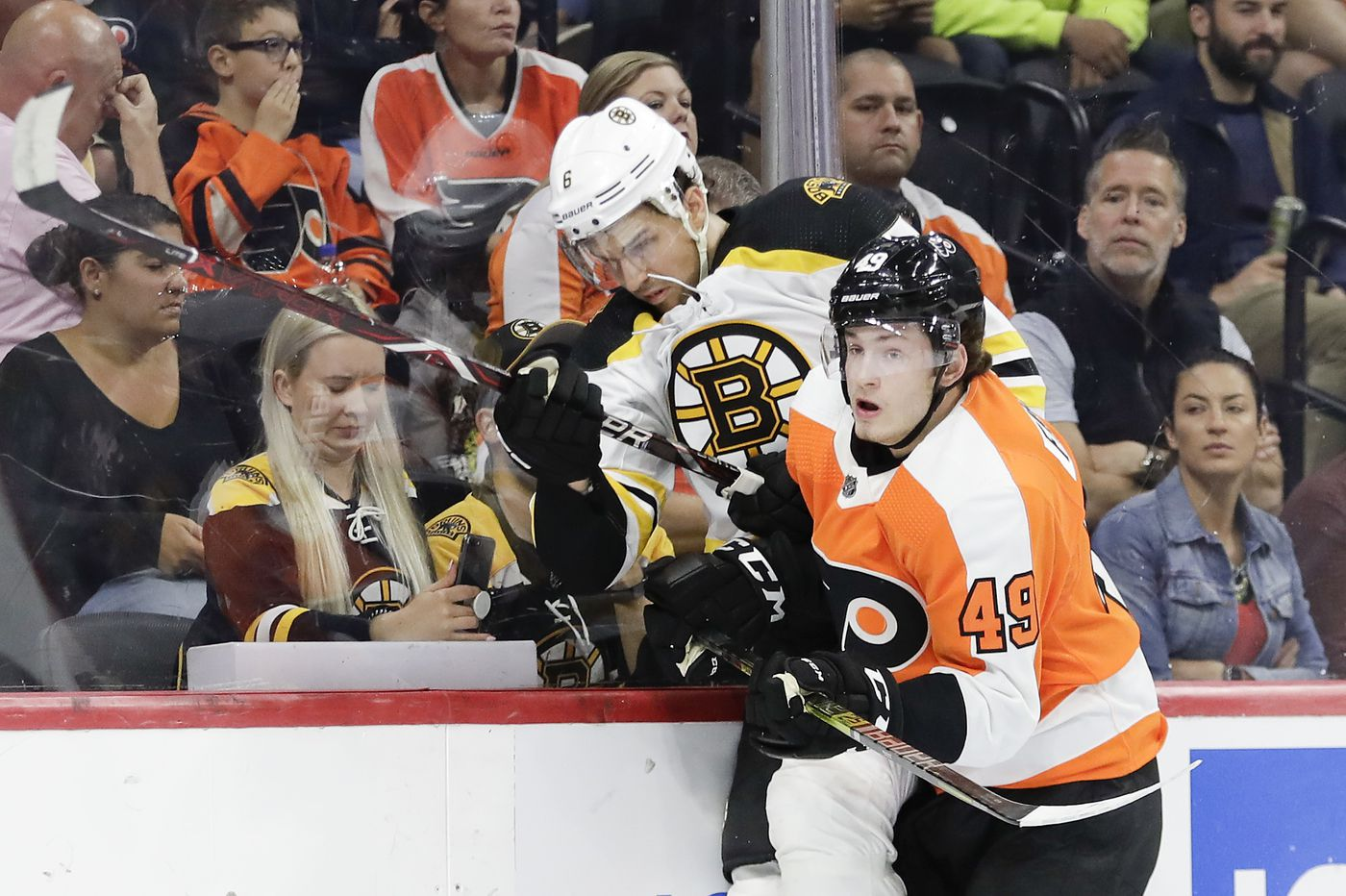 Joel Farabee vows to be 'mentally tough' after being disappointed by Flyers' demotion