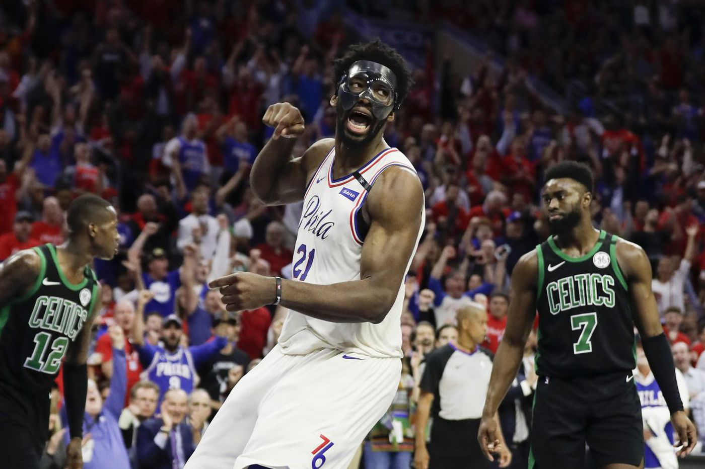 Sixers take their chances against Celtics and live to play again   Bob Ford