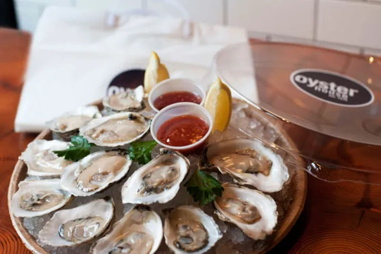 Just in time for the holidays, the Oyster House is offering its briny best packed in ice for take-out (PHOTO: ERIC STABACH)