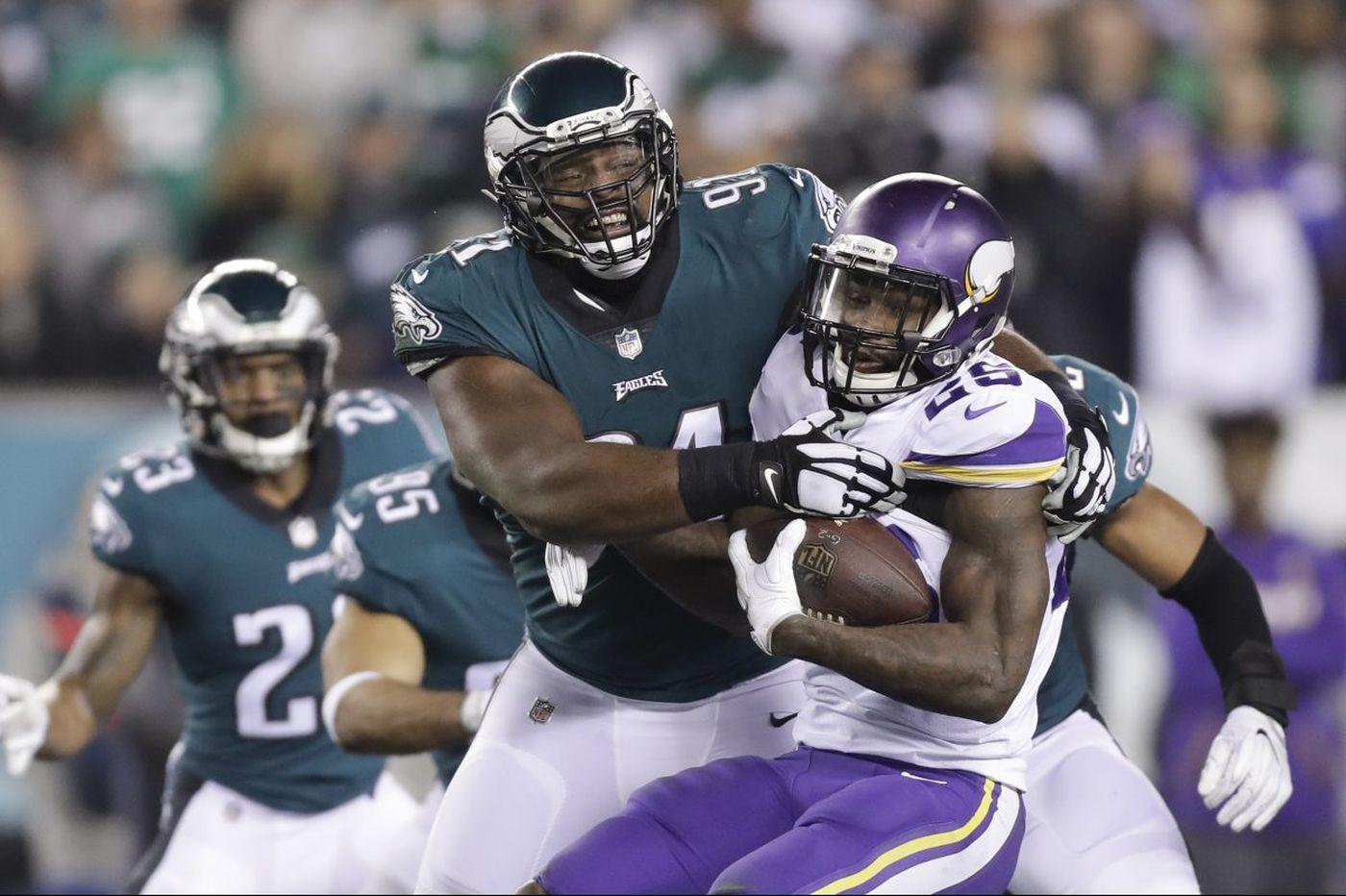 new concept 1221b 6d1dd Eagles defensive tackle Fletcher Cox to host Super Bowl meet ...