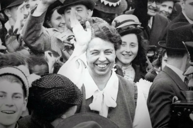 """""""Eleanor Roosevelt: Volume Three: The War Years and After, 1939-1962,"""" by Blanche Wiesen Cook: Detail from the book cover."""