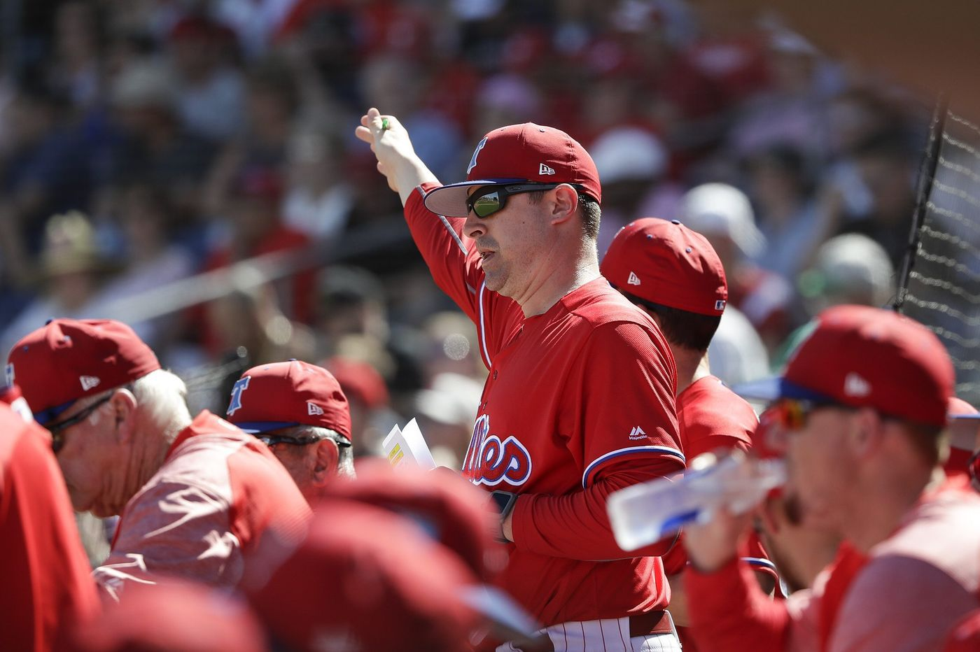 Phillies pitching coach: Starting rotation doesn't need upgrades