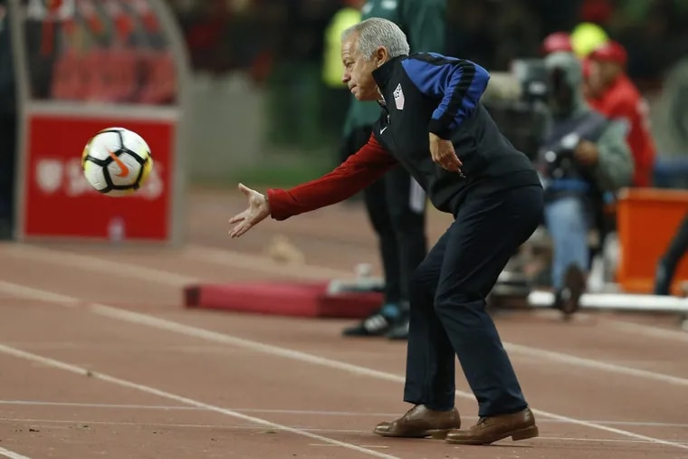 Dave Sarachan has been the interim head coach of the United States men's national soccer team since November of 2017.