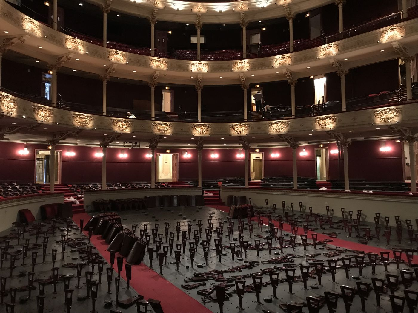 Academy Of Music Is Replacing Its Lumpy Old Seats And No