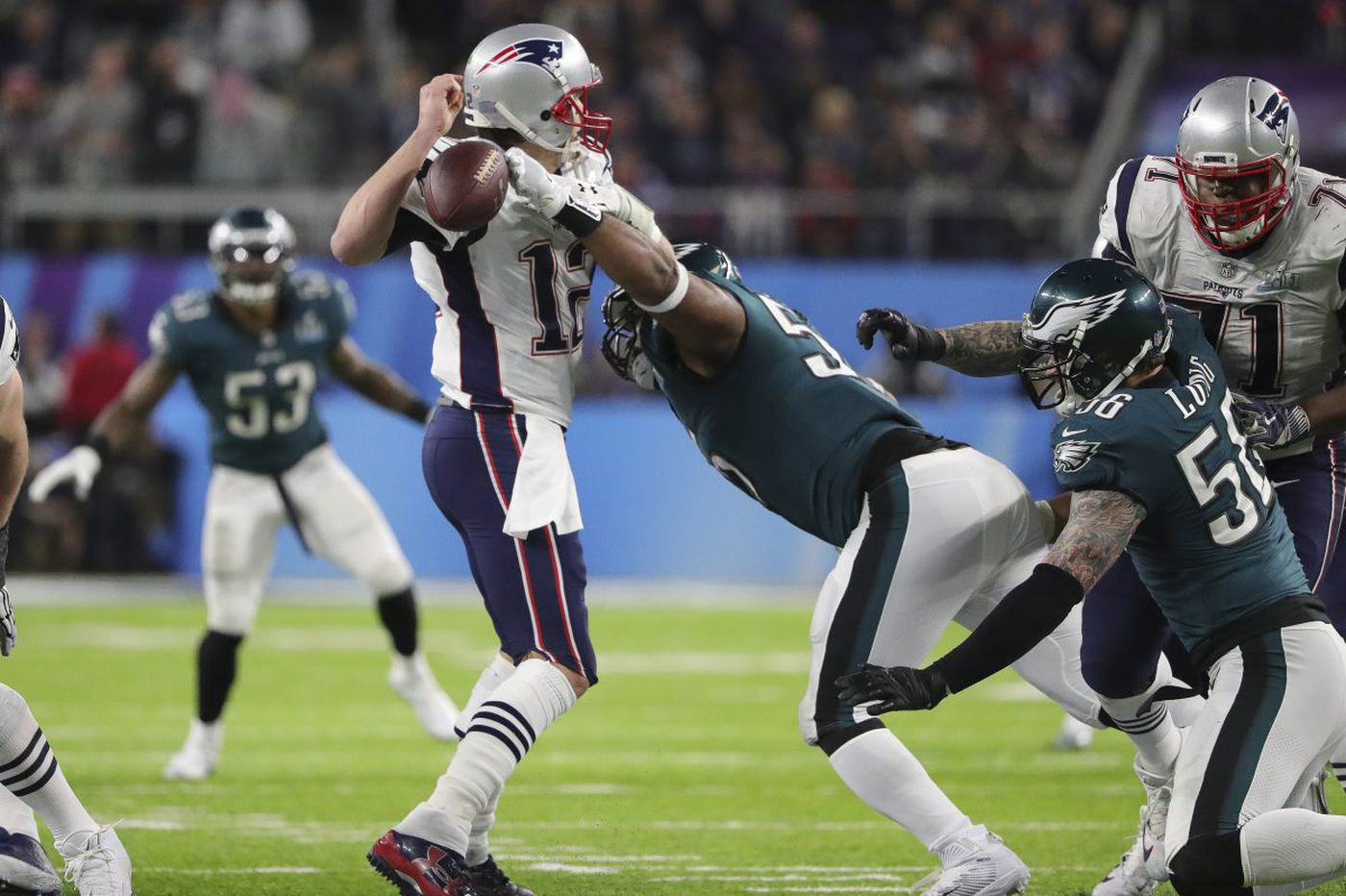 5a8c9a261 Eagles fans take glee in Patriots  disappointment