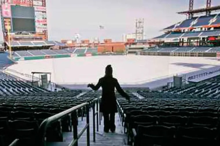 The Flyers will host the Winter Classic at Citizens Bank Park next season. (Michael Bryant / Staff Photographer)