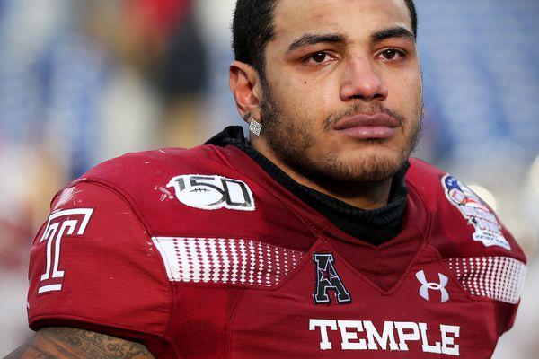 An emotional final game for Temple linebacker Shaun Bradley