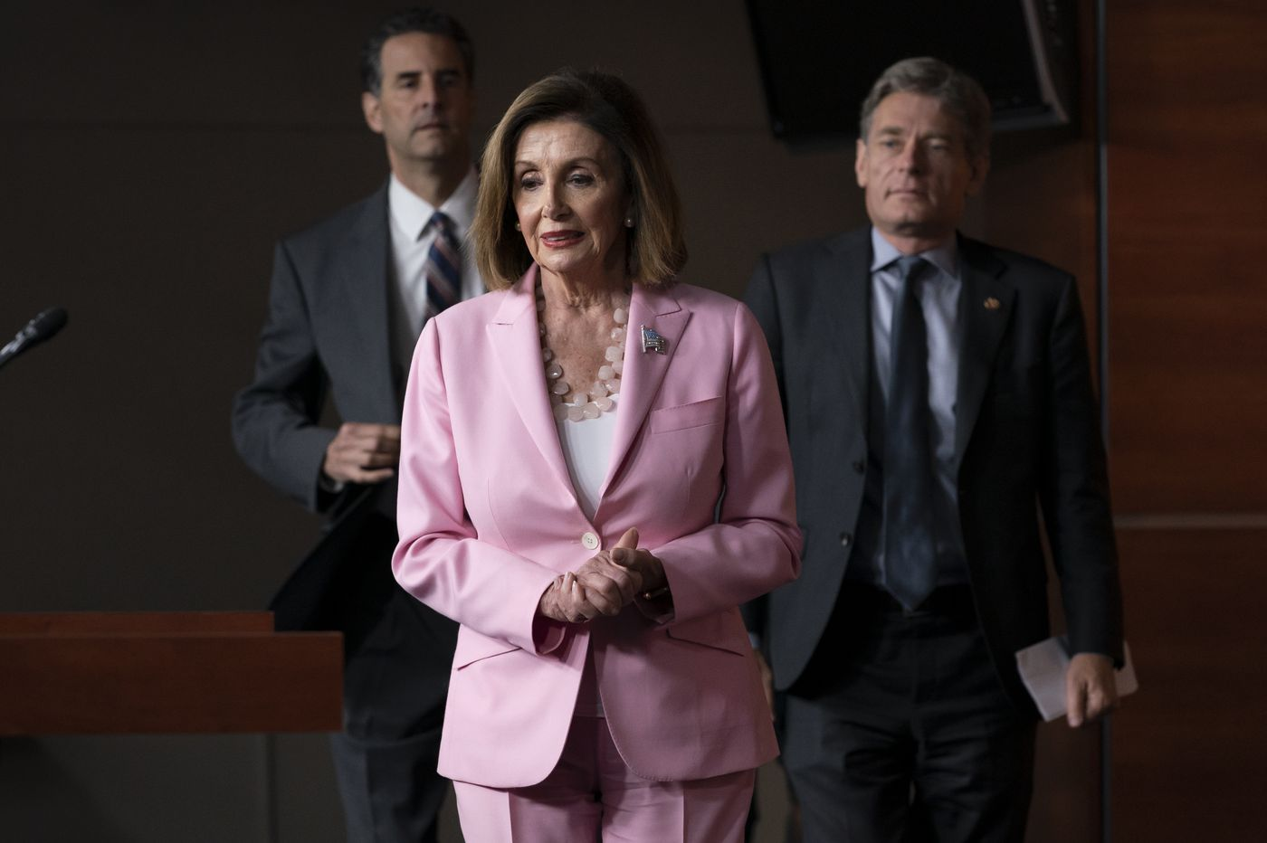 Nancy Pelosi to New Jersey Democrats: Impeachment inquiry of Trump is an 'obligation'