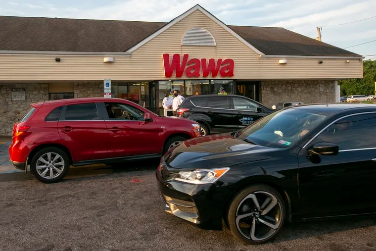 The WAWA at 1300 E. Erie was the scene of a shooting on Friday morning August 28, 2020. The store has been turning away customers.