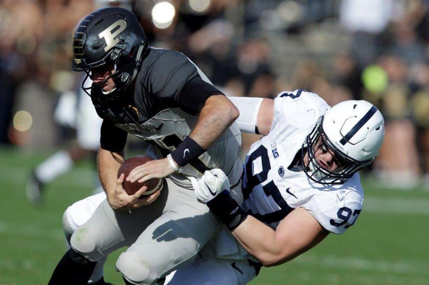 Penn State's Ryan Buchholz ends football career over back pain
