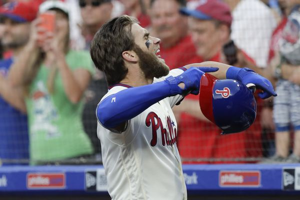 New Phillies star Bryce Harper has 'owned' his arrival in Philadelphia