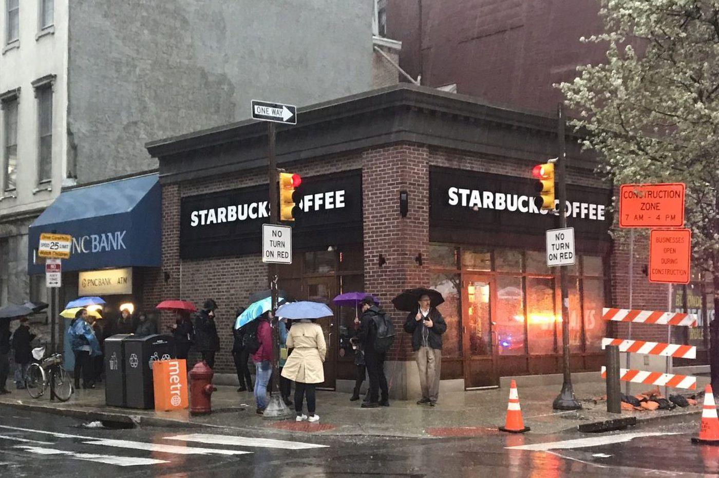 Arrest of two black men at Philadelphia Starbucks was 'reprehensible,' CEO Kevin Johnson says