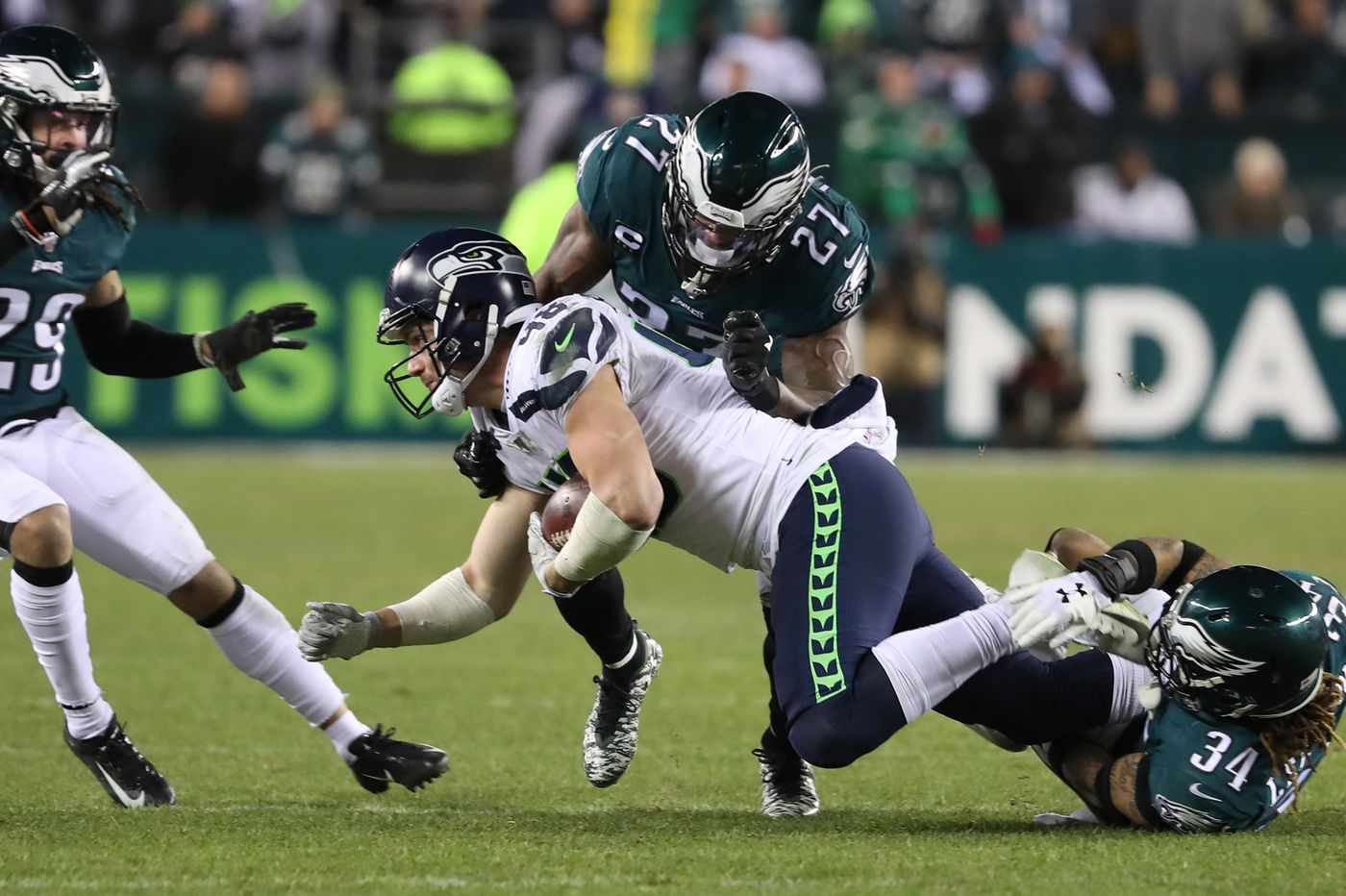The Eagles' defense had little margin for error vs. Russell Wilson. It was good, but that wasn't good enough.