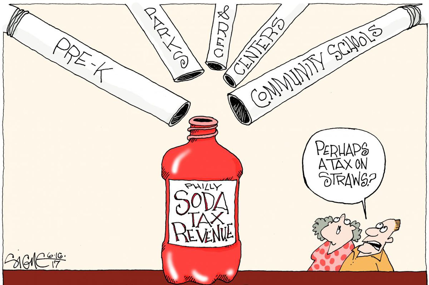 Philly moves the goalposts on soda tax
