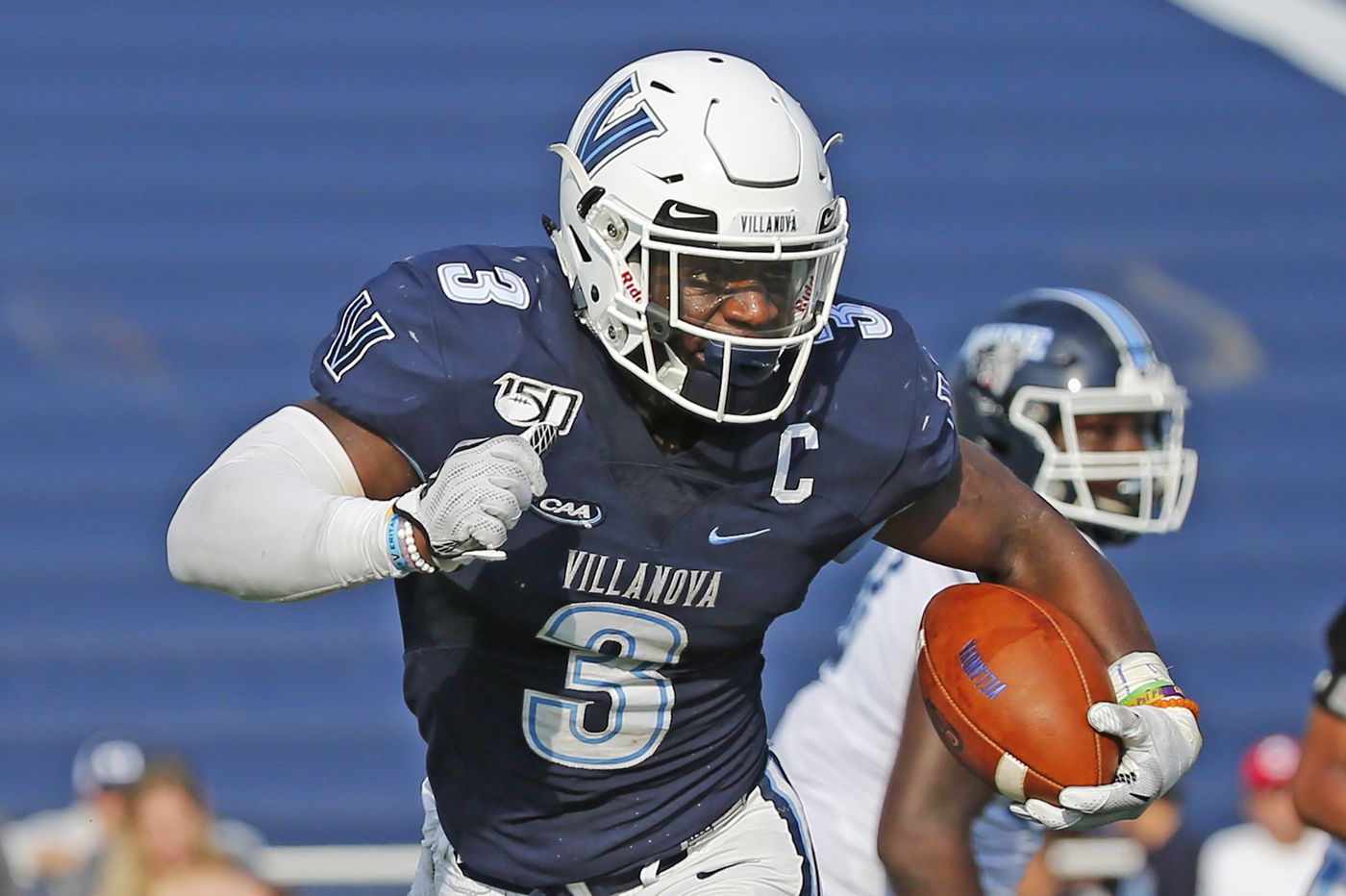 Villanova's Justin Covington waits for one last chance to impress pro football scouts. He may not get it. | Mike Jensen