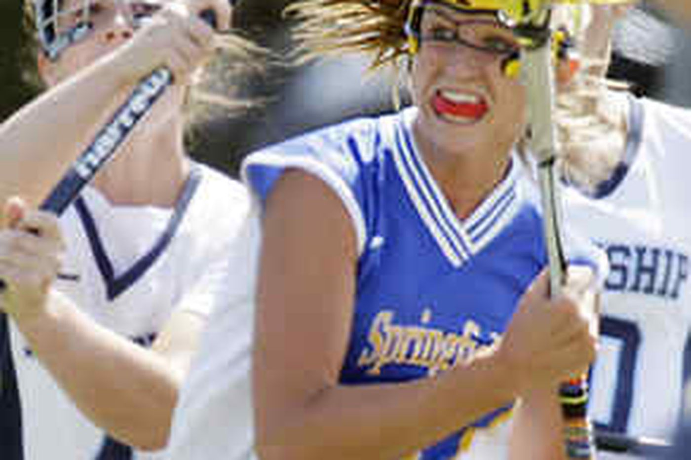 Springfield (Delco) beats Manheim Township in girls' lacrosse