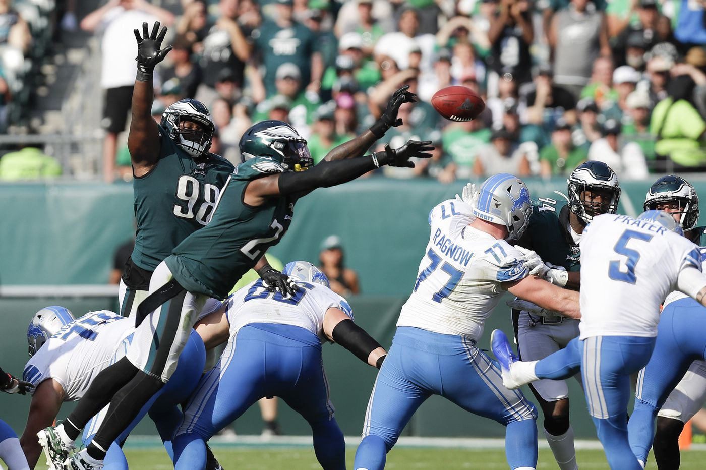 Malcolm Jenkins' great play could have been greater, without costly block-in-the-back call