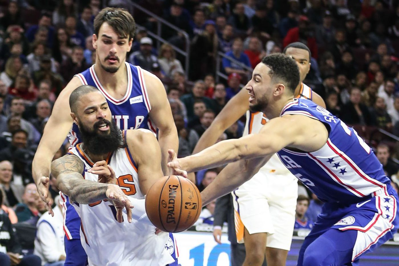 Sixers Ben Simmons, Dario Saric eager to shine in Rising Stars game